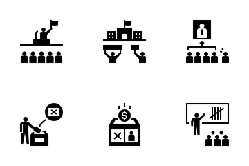 Voting And Elections Icon Pack