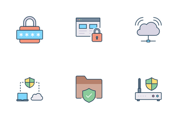 VPN Security Icon Pack