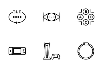 VR Game Icon Pack