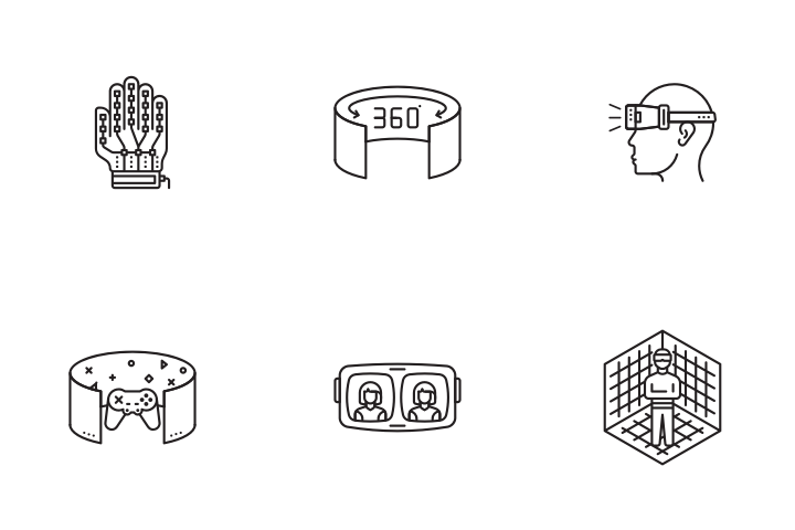 VR Technology Icon Pack