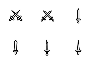 War And Weapons Icon Pack