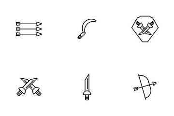 War Weapons Icon Pack