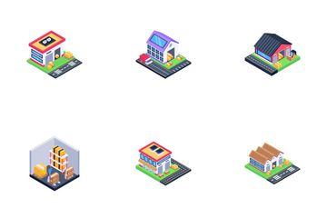 Warehouse Icon Pack