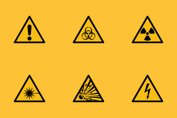 Warning Triangle Signs Icon Pack