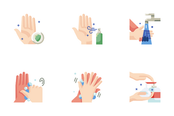 Wash Hands Icon Pack