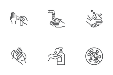 Wash Your Hands Icon Pack