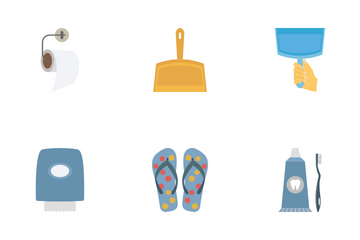 Washroom Equipment Icon Pack