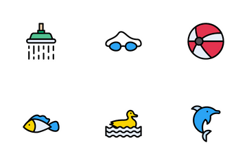 Water Park Icon Pack