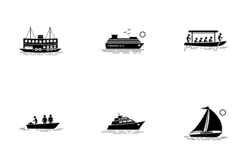 Water Transport Icon Pack