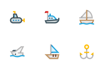 Watercraft Icon Pack