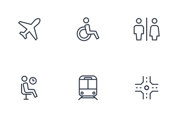Way Finding Icon Pack