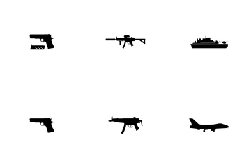 Weapon Glyph Icon Pack