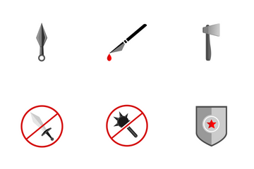 Weapons  Icon Pack
