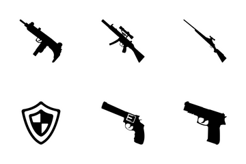 Weapons Vector Icons Icon Pack