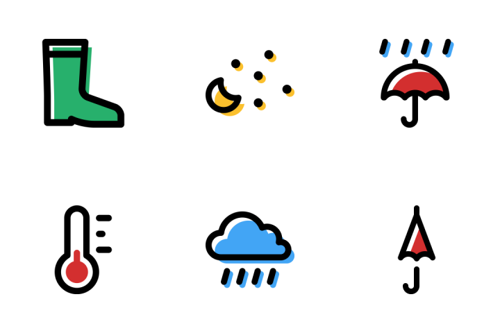 Download Weather icons with 344+ collections