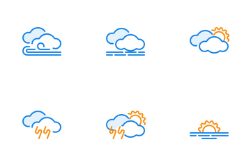 Weather And Cloud Icon Pack
