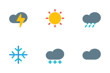 Weather And Forecast Icon Pack