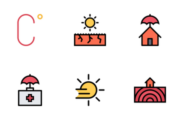 Weather  Colored Icon Pack