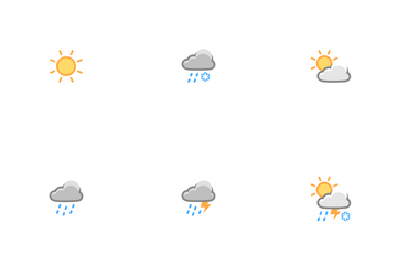 Weather DayLight Icons Icon Pack