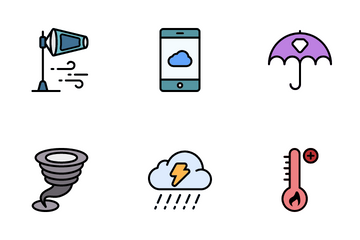 Weather Environment Icon Pack