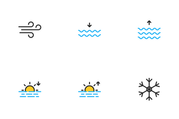 Weather Filled Color Icon Pack