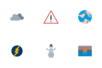 Weather Flat Icon Pack