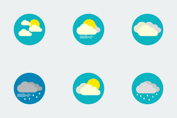 Weather Flat Icons Icon Pack