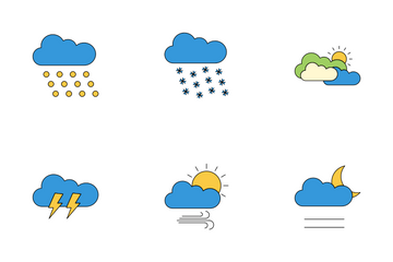Weather Icons Icon Pack