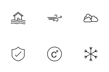 Weather Line Icon Pack