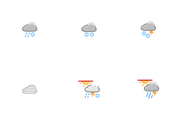 Weather Polar Night Icons Icon Pack