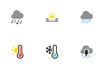 Weather Report Icon Pack