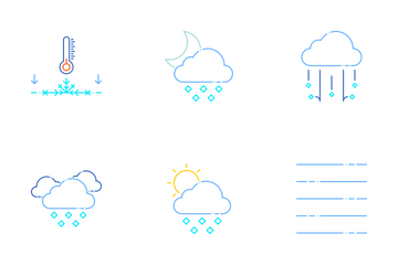 Weather Set - Color Icon Pack