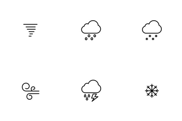 Weather Thinline Icon Pack