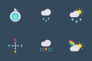 Weather Vol 01 Icon Pack