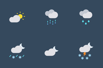 Weather Vol 02 Icon Pack