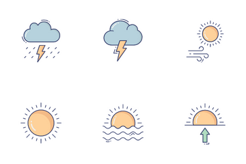 Weather Vol 1 Icon Pack