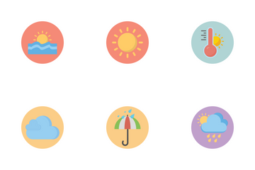 Weathr Circle Icon Pack