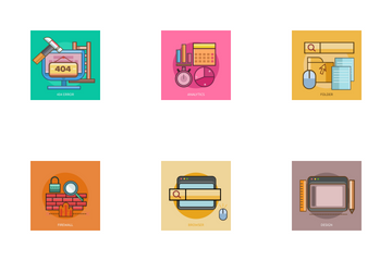 Web And Development Icon Pack