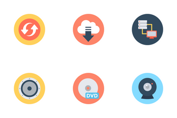Web And Networking 2 Icon Pack