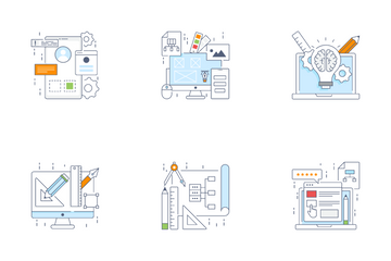 Web And Product Design Icon Pack