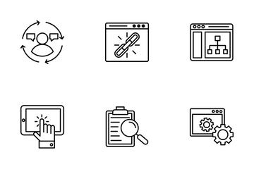 Web And Seo 1 Icon Pack