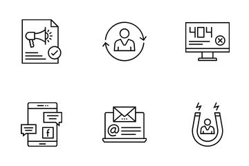 Web And SEO Vol 10 Icon Pack