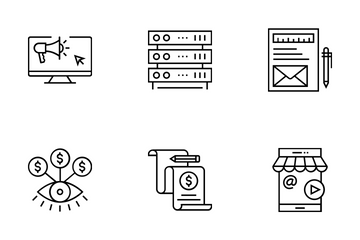 Web And SEO Vol 11 Icon Pack