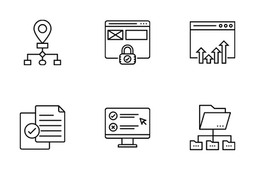 Web And SEO Vol 12 Icon Pack