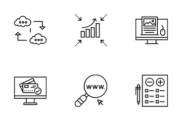Web And SEO Vol 15 Icon Pack