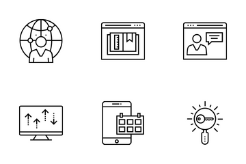 Web And SEO Vol 16 Icon Pack
