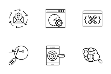 Web And SEO Vol 17 Icon Pack