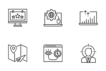 Web And SEO Vol 19 Icon Pack
