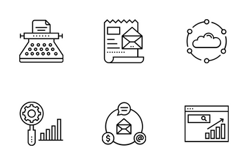 Web And SEO Vol 4 Icon Pack