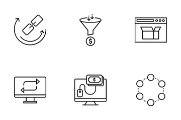 Web And SEO Vol 8 Icon Pack